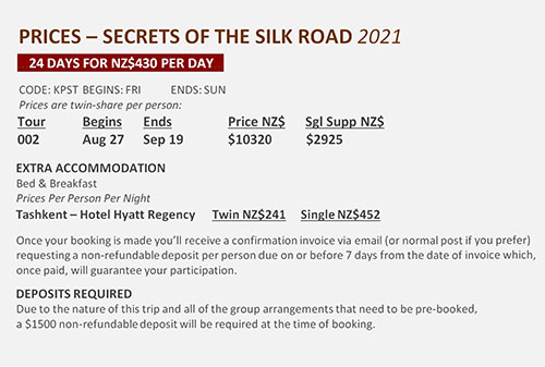 Secrets of the Silk Road price